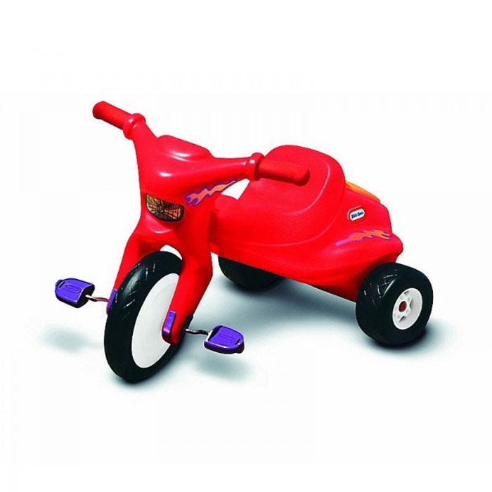 Трехколесный велосипед Little Tikes, цвет: красный. 4783MHDR2G/AТрехколесный велосипед Little Tikes выполнен из высококачественного материала яркого красного цвета, он отлично ездит по гравию, неасфальтированным дорожкам и другим неровным поверхностям. Велосипед оборудован удобным сиденьем, передним большим и двумя маленькими задними колесами. За сиденьем расположен контейнер, крышка которого открывается при необходимости. Благодаря рифленым педалям, ножки вашего ребенка будет крепко держаться и не соскальзывать.С таким велосипедом катание малыша станет веселее и увлекательнее. Характеристики:Материал: металл, пластик. Ширина сиденья: 20 см. Диаметр переднего колеса: 39 см. Диаметр задних колес: 18 см. Размер велосипеда: 102 см х 76 см х 48 см. Размер упаковки: 58 см до 45 см х 45 см.