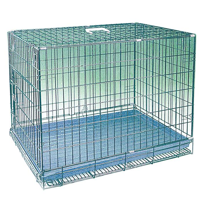 Клетка для животных Triol, 74 см х 55 см х 63,5 смКл-30700Клетка для животных, выполненная из цинка, предназначена для содержания вашего любимца. Клетка имеет прямоугольную форму, очень просторна, оснащена съемным поддоном и ручкой для переноски. Такая клетка станет для вашего питомца уютным домиком и надежным убежищем. Размер клетки: 74 см х 55 см х 63,5 см.