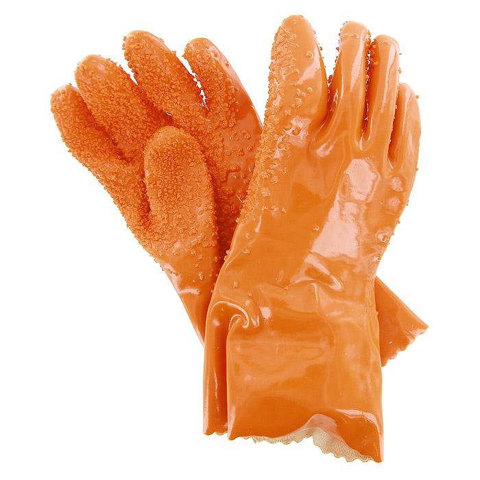Перчаткидля чистки овощей Bradex Шкурка94672Перчатки Bradex Шкурка предназначены для очищения молодых корнеплодов (картофеля, моркови, свеклы и т.д.). Перчатки выполнены из водонепроницаемого материала и имеют особую абразивную поверхность, которая с легкостью снимает верхний слой кожицы с овоща. Всего за несколько секунд, не испачкав и не поранив руки, вы очистите овощи и сможете приступить непосредственно к приготовлению блюда.Перчатки Bradex Шкурка особенно подойдут для жизни в дачных условиях, где иногда требуется почистить овощи быстро и без использования горячей воды. Перчатки имеют универсальный размер и подойдут под любой размер кисти. Характеристики: Материал: резина, абразив. Размер перчатки:26 см x 12 см x 1 см. Размер упаковки:21 см x 18 см x 6 см. Производитель:Китай. Артикул:TD 0005.