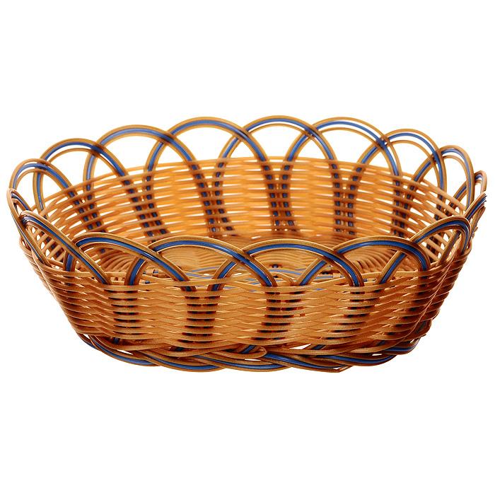 Корзинка плетеная Oriental Way Мульти, овальная, 23 х 17,5 см корзинка плетеная oriental way мульти круглая диаметр 18 см