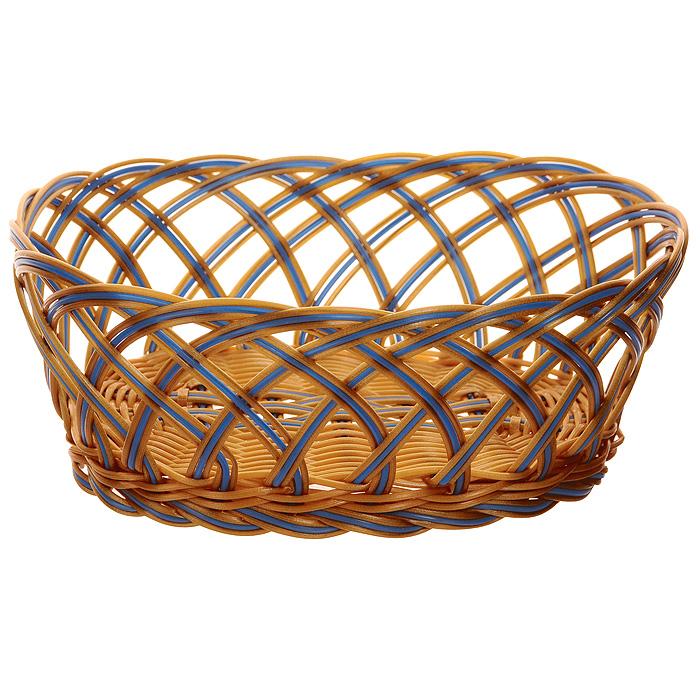 Корзинка плетеная Oriental Way Мульти, овальная, 25 см х 19 см корзинка плетеная oriental way мульти круглая диаметр 18 см
