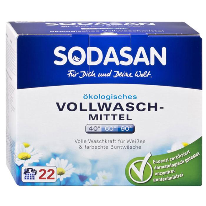 """Стиральный порошок-концентрат """"Sodasan"""" для отбеливания и удаления стойких згрязнений, 1,2 кг 5050"""
