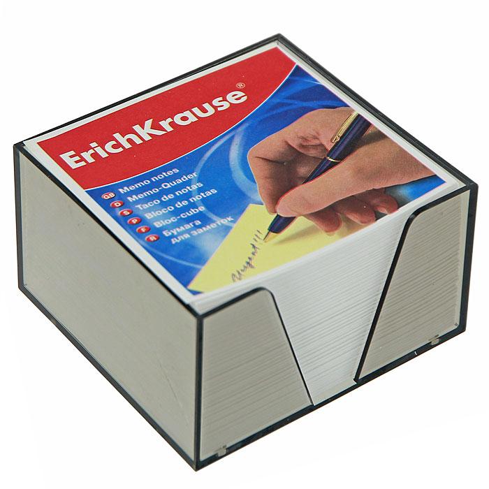 Бумага для заметок Erich Krause, в боксе, цвет: белый, 9 см x 9 см x 5 см7710899Бумага для заметок Erich Krause в боксе - незаменимая вещь, которая помогает организовать пространство на вашем рабочем столе. Лаконичный дизайн и удобство в использовании сделают бумагу для заметок вашим надежным помощником.Для удобства хранения бумаги предусмотрен прозрачный пластиковый бокс, благодаря которому листы не растеряются и сохранят аккуратный вид на всем протяжении использования.Блок содержит бумагу белого цвета. Характеристики:Материал: бумага, пластик. Размер листа: 9 см x 9 см. Размер блока: 9 см x 9 см x 5 см. Размер бокса: 9,5 см x 9,5 см x 5 см.