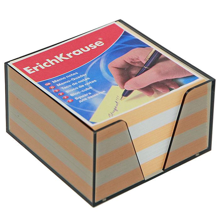 Бумага для заметок Erich Krause, в боксе, цвет: персиковый, белый2010440Бумага для заметок Erich Krause в боксе - незаменимая вещь, которая помогает организовать пространство на вашем рабочем столе. Лаконичный дизайн и удобство в использовании сделают бумагу для заметок вашим надежным помощником.Для удобства хранения бумаги предусмотрен прозрачный пластиковый бокс, благодаря которому листы не растеряются и сохранят аккуратный вид на всем протяжении использования.Блок содержит бумагу двух цветов: персикового и белого. Характеристики:Материал: бумага, пластик. Размер листа: 9 см x 9 см. Размер блока: 9 см x 9 см x 5 см. Размер бокса: 9,5 см x 9,5 см x 5 см.