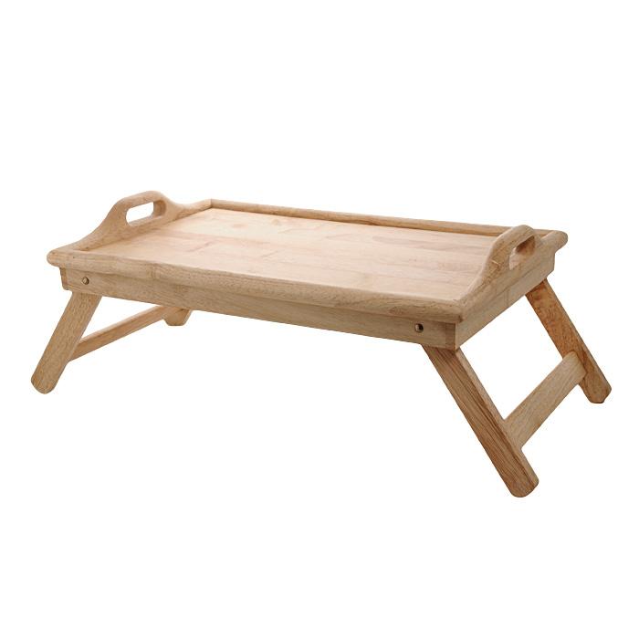 Поднос на ножках Oriental way 9/610, 9/6109/610Столик-поднос Oriental way, выполненный из высококачественной древесины гевеи, практичен и прослужит вам долгие годы. Столик имеет складные ножки, поэтому может использоваться как поднос. Он покрыт пищевым лаком, который препятствует впитыванию влаги в изделие, тем самым продлевает срок его службы. Благодаря двум ручкам вы сможете с легкостью переносить стол, а удобные ножки надежно удержат его на любой поверхности. С этим столиком ваш утренний завтрак станет незабываемым! Особенности столика-подноса Oriental Way: - сделан из природного материала; - гармонирует с любым интерьером; - долгий срок службы; - не впитывает влагу; - не впитывает запахи; - нельзя мыть в посудомоечной машине.