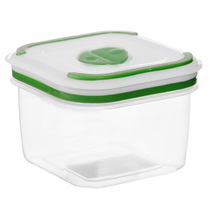Контейнер для СВЧ NeoWay Simple control квадратный, 0,36 л94672Квадратный контейнер для СВЧ NeoWay Simple control выполнен из сочетания твердого и мягкого пластика, абсолютно безопасного для использования с пищевыми продуктами. Контейнер имеет инновационную крышку, обеспечивающую абсолютную герметичность и водонепроницаемость, не пропускает влагу и запахи, долго сохраняет свежесть продуктов. На крышке есть клапан для выпуска пара и антискользящие вставки для устойчивого вертикального хранения.Контейнер подойдет не только для разогревания продуктов в печи СВЧ, но и для хранения продуктов, в том числе в холодильной и морозильной камерах. Контейнер выдерживает температуру в диапазоне от -20°C до +120°, его можно мыть в посудомоечной машине и нельзя греть пустым и в режиме гриль. Характеристики:Материал: полипропилен. Объем контейнера: 0,36 л. Размер контейнера: 9 см х 9 см. Высота контейнера (без учета крышки): 6,5 см. Производитель: Китай. Артикул: GL9005.