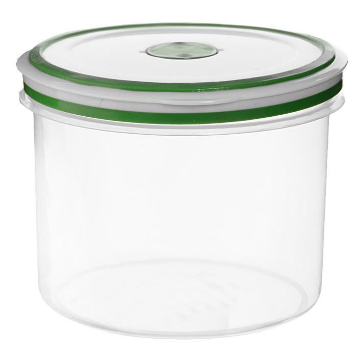 Контейнер для СВЧ NeoWay Simple control круглый, 1,1 лGL9057Круглый контейнер для СВЧ NeoWay Simple control выполнен из сочетания твердого и мягкого пластика, абсолютно безопасного для использования с пищевыми продуктами. Контейнер имеет инновационную крышку, обеспечивающую абсолютную герметичность и водонепроницаемость, не пропускает влагу и запахи, долго сохраняет свежесть продуктов. На крышке есть клапан для выпуска пара и антискользящие вставки для устойчивого вертикального хранения. Контейнер подойдет не только для разогревания продуктов в печи СВЧ, но и для хранения продуктов, в том числе в холодильной и морозильной камерах. Контейнер выдерживает температуру в диапазоне от -20°C до +120°, его можно мыть в посудомоечной машине и нельзя греть пустым и в режиме гриль. Характеристики: Материал: полипропилен. Объем контейнера: 1,1 л. Диаметр контейнера: 13 см. Высота контейнера (без учета крышки): 10,5 см. Производитель: Китай. Артикул: GL9057.