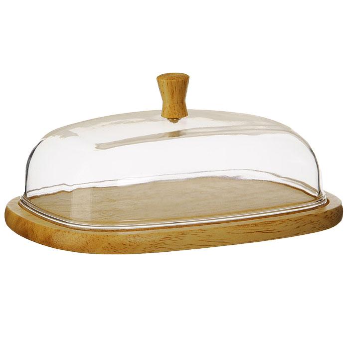 Масленка Oriental Way C7010VT-1520(SR)Масленка Oriental way, выполненная из высококачественной древесины гевеи и пластика, предназначена для красивой сервировки и хранения масла. Она состоит из деревянного подноса и прозрачной пластиковой крышки с деревянной ручкой. На подносе имеются специальные выемки, благодаря которым крышка легко на него устанавливается.Благодаря такой масленке ваше масло всегда будет свежим.Особенности масленки Oriental Way:- сделана из природного материала; - гармонирует с любым интерьером; - долгий срок службы; - не впитывает влагу; - не впитывает запахи; - нельзя мыть в посудомоечной машине. Характеристики:Материал: гевея, пластик. Размер подноса: 17 см х 13 см х 1 см. Размер крышки:15,3 см х 11,3 см х 5,5 см. Размер упаковки:18 см х 13,5 см х 6,5 см. Производитель: Китай. Артикул: C7010.