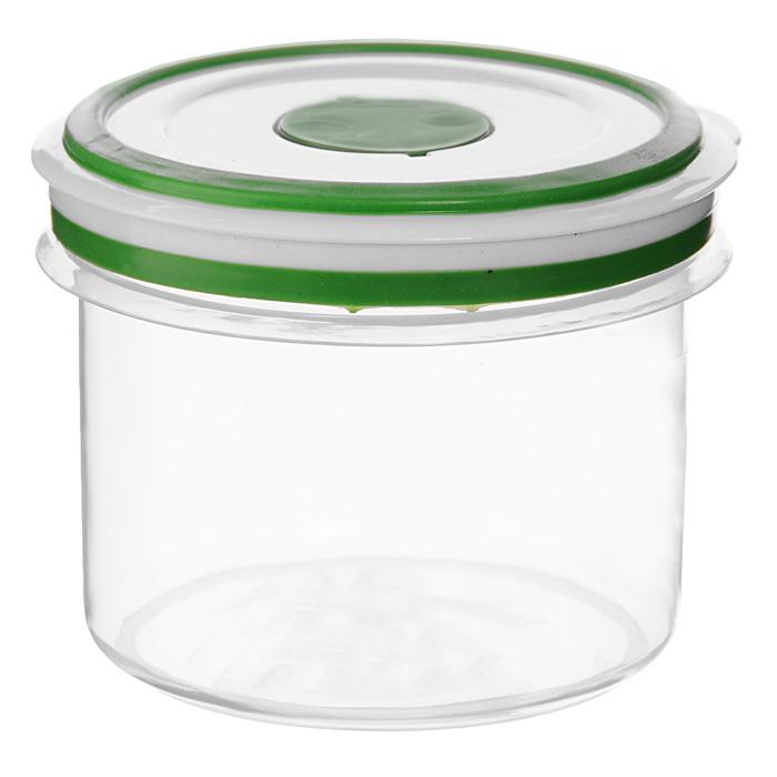 Контейнер для СВЧ NeoWay Simple control круглый, 0,65 л94672Круглый контейнер для СВЧ NeoWay Simple control выполнен из сочетания твердого и мягкого пластика, абсолютно безопасного для использования с пищевыми продуктами. Контейнер имеет инновационную крышку, обеспечивающую абсолютную герметичность и водонепроницаемость, не пропускает влагу и запахи, долго сохраняет свежесть продуктов. На крышке есть клапан для выпуска пара и антискользящие вставки для устойчивого вертикального хранения.Контейнер подойдет не только для разогревания продуктов в печи СВЧ, но и для хранения продуктов, в том числе в холодильной и морозильной камерах. Контейнер выдерживает температуру в диапазоне от -20°C до +120°, его можно мыть в посудомоечной машине и нельзя греть пустым и в режиме гриль. Характеристики:Материал: полипропилен. Объем контейнера: 0,65 л. Диаметр контейнера: 11 см. Высота контейнера (без учета крышки): 9 см. Производитель: Китай. Артикул: GL9058.