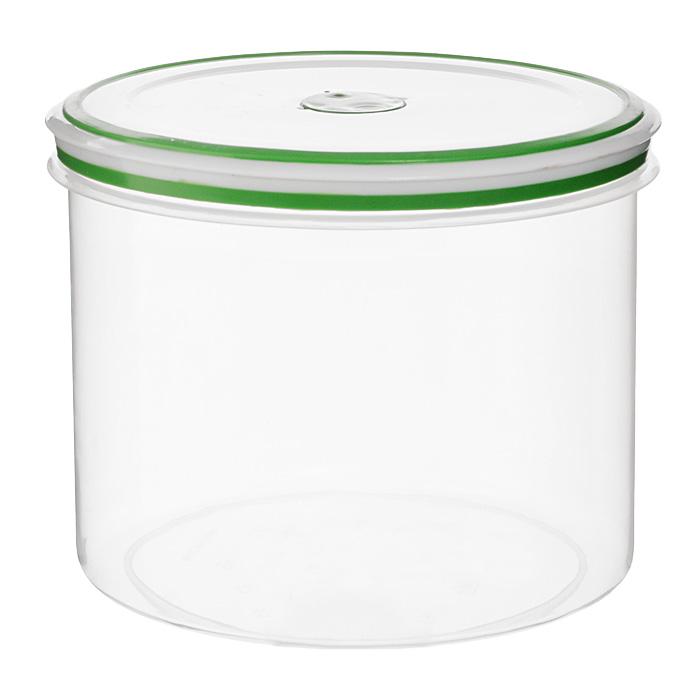 Контейнер для СВЧ NeoWay Simple control круглый, 2,4 лGL9055Круглый контейнер для СВЧ NeoWay Simple control выполнен из сочетания твердого и мягкого пластика, абсолютно безопасного для использования с пищевыми продуктами. Контейнер имеет инновационную крышку, обеспечивающую абсолютную герметичность и водонепроницаемость, не пропускает влагу и запахи, долго сохраняет свежесть продуктов. На крышке есть клапан для выпуска пара и антискользящие вставки для устойчивого вертикального хранения. Контейнер подойдет не только для разогревания продуктов в печи СВЧ, но и для хранения продуктов, в том числе в холодильной и морозильной камерах. Контейнер выдерживает температуру в диапазоне от -20°C до +120°, его можно мыть в посудомоечной машине и нельзя греть пустым и в режиме гриль. Характеристики: Материал: полипропилен. Объем контейнера: 2,4 л. Диаметр контейнера: 17 см. Высота контейнера (без учета крышки): 13,7 см. Производитель: Китай. Артикул: GL9055.
