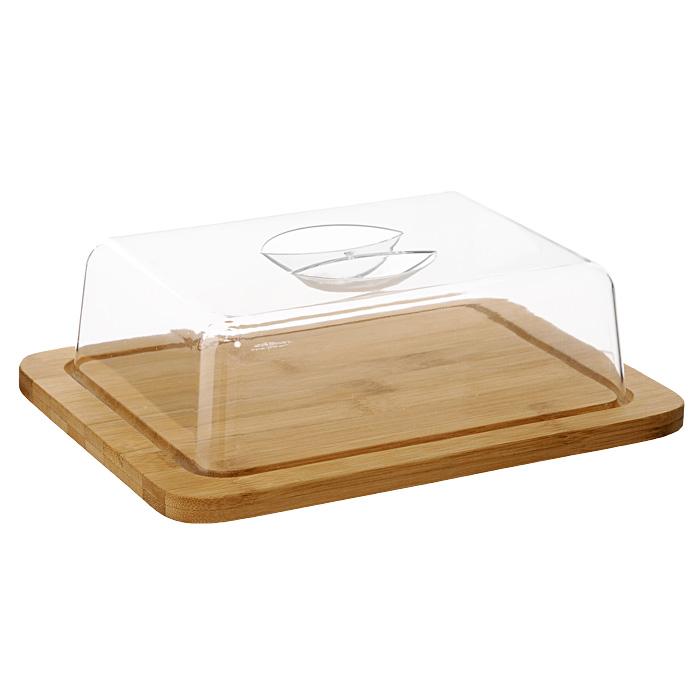 Сырница Oriental Way NL118683NL118683Сырница Oriental way выполнена из высококачественной древесины бамбука и пластика. Она состоит из деревянного подноса и прозрачной пластиковой крышки. На подносе имеются специальные выемки, благодаря которым крышка легко на него устанавливается. Благодаря такой сырнице ваш сыр всегда будет свежим. Особенности сырницы Oriental Way: - сделана из природного материала; - гармонирует с любым интерьером; - долгий срок службы; - не впитывает влагу; - не впитывает запахи; - нельзя мыть в посудомоечной машине.