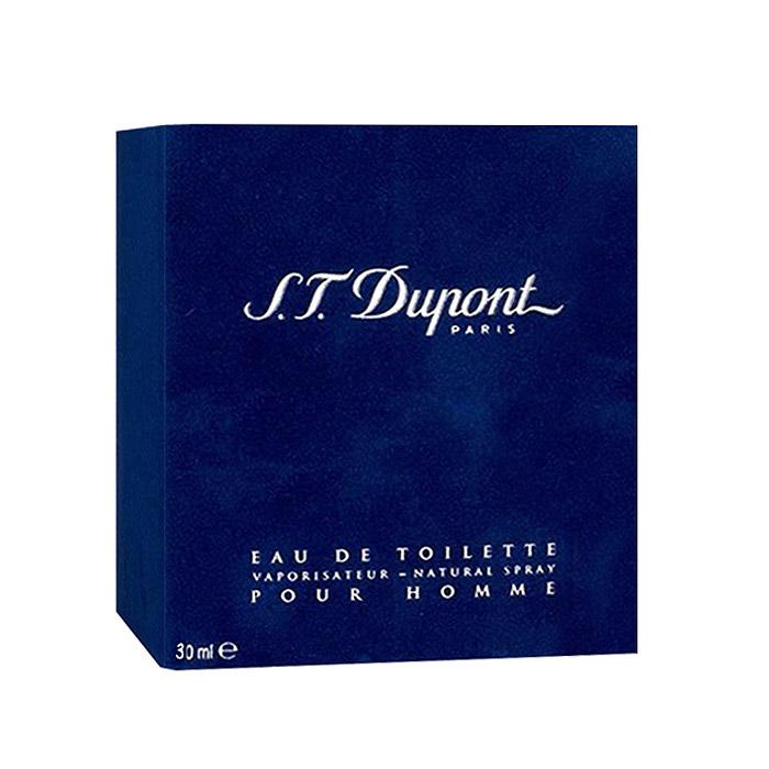 S.T. Dupont Dupont Homme. Туалетная вода, 30 мл02405Dupont Pour Homme - классическая мужская композиция теплых и мягких древесных нот розмарина, кориандра и сандалового дерева в сочетании с пряными аккордами корицы, пачули и кипариса, что придает элегантному букету мужественный и слегка решительный характер. Нежный, изысканный и весьма сексуальный аромат Dupont Pour Homme идеально подходит для делового костюма и официальных встреч, и является бесспорным предметом роскоши и престижа своего обладателя. Классификация аромата : древесный. Пирамида аромата : Верхние ноты: кориандр, кардамон. Ноты сердца: ирис, кедровое дерево. Ноты шлейфа: гелиотроп, мускус, дерево gaiac. Ключевые слова : Мужественный, классический и элегантный! Характеристики: Объем: 30 мл. Производитель: Франция. Туалетная вода - один из самых популярных видов парфюмерной продукции. Туалетная вода ...