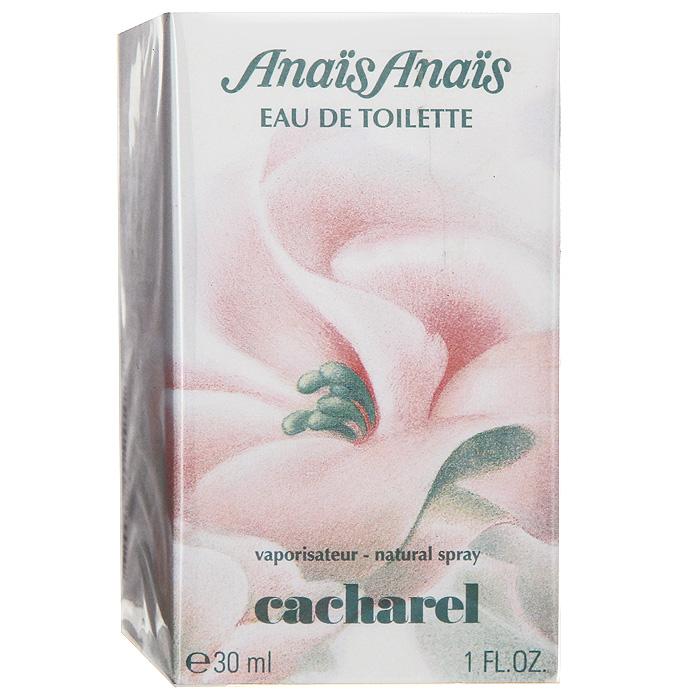 Cacharel Anais Anais. Туалетная вода, 30 млL08-8Нежный, освежающий, утонченный цветочный аромат Cacharel Anais Anais содержит ноты лилии, цитруса, иланг-иланг. Аромат подойдет как для деловых встреч так и для ночного клуба. Парфюмерная композиция этой туалетной воды включает в себя лилию, жасмин и гардению, ее дополняют цветки апельсинового дерева, иланг-иланг и сирень, и завершают аромат, кедр, мускус и кожа.Классификация аромата: цветочный.Верхние ноты: гиацинт, жимолость, бергамот.Ноты сердца:роза, ландыш, лилия, иланг-иланг.Ноты шлейфа:янтарь, сандал, древесина кедра, мох.Ключевые слова:Загадочный, нежный, сладкий, классический! Характеристики:Объем: 30 мл. Производитель: Франция. Туалетная вода - один из самых популярных видов парфюмерной продукции. Туалетная вода содержит 4-10%парфюмерного экстракта. Главные достоинства данного типа продукции заключаются в доступной цене, разнообразии форматов (как правило, 30, 50, 75, 100 мл), удобстве использования (чаще всего - спрей). Идеальна для дневного использования. Товар сертифицирован.