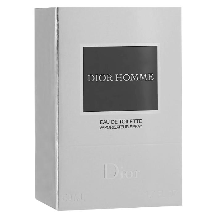 Christian Dior Dior Homme. Туалетная вода, мужская, 50 мл1301210Традиционный и современный одновременно, Dior Homme полностью соответствует стилю Дома Dior. Пудровый аромат построен на ноте ирис в сочетании с ароматными и древесными оттенками. Это новая классика современности - элегантный, мужественный и благородный парфюм. Dior Homme - это новая тенденция в мире мужской парфюмерии. Классификация аромата: древесный, свежий.Верхние ноты: лаванда, бергамот, шалфей.Ноты сердца:итальянский ирис, амбра, бобы какао, пудровый аккорд.Ноты шлейфа:ветивер с гаити, индонезийские пачули, нота кожи.Ключевые слова:Дерзкий, изысканный, элегантный! Характеристики:Объем: 50 мл. Производитель: Франция. Туалетная вода - один из самых популярных видов парфюмерной продукции. Туалетная вода содержит 4-10%парфюмерного экстракта. Главные достоинства данного типа продукции заключаются в доступной цене, разнообразии форматов (как правило, 30, 50, 75, 100 мл), удобстве использования (чаще всего - спрей). Идеальна для дневного использования. Товар сертифицирован.