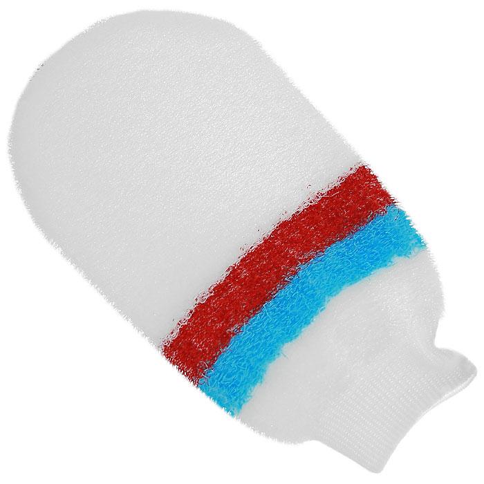 Мочалка-рукавица массажная Riffi, цвет: белый, голубой, красный800Мочалка-рукавица Riffi предназначена для интенсивного массажа после занятий спортом. Она усиливает действие массажа на мышцы, помогая снимать спазмы и удалять шлаки из мышечной ткани. Интенсивный и пощипывающе свежий массаж тела с применением Riffi усиливает кровообращение, активирует кровоснабжение и улучшает общее самочувствие. Характеристики: Материал: 50% полиэстер, 50% полиэтилен. Размер мочалки: 22 см x 12 см. Производитель: Германия. Артикул: 800. Товар сертифицирован.