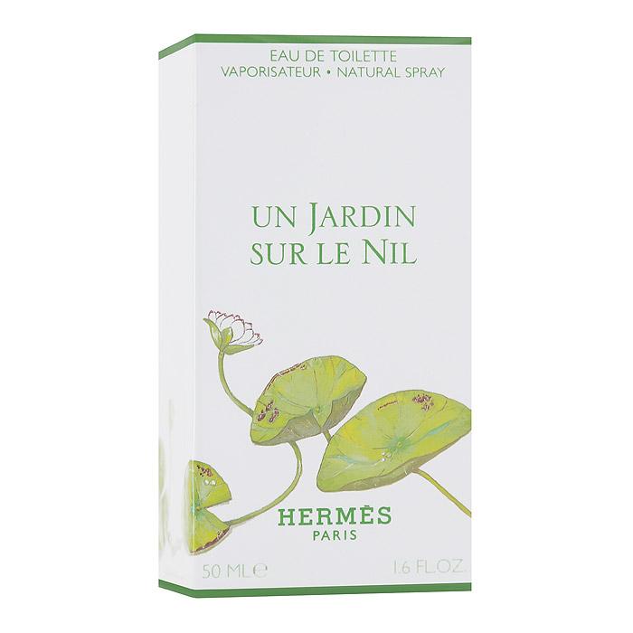 """Hermes """"Un Jardin Sur Le Nil"""". Туалетная вода, 50 мл 06317"""