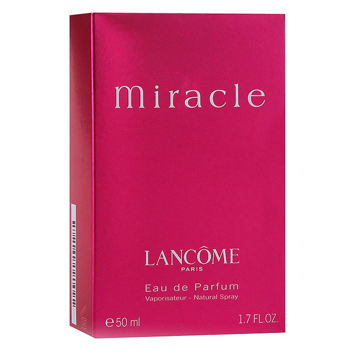 Lancome Miracle. Парфюмерная вода, 50 мл lancome la vie est belle intense парфюмерная вода женская 75 мл