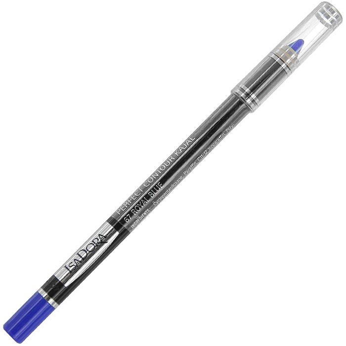 Контурный карандаш для глаз Isa Dora Perfect Contour Kajal, тон №67, цвет: королевский синий, 1,2 г113867Контурный карандаш для глаз Isa Dora Perfect Contour Kajal обладает специальной мягкой формулой, которая обеспечивает легкое точное нанесение. Карандаш легко растушевывается, стойкий и влагоустойчивый. Характеристики: Вес: 1,2 г. Тон: №67 (королевский синий). Длина карандаша: 12,5 см. Производитель: Швеция. Артикул: 1138. Товар сертифицирован.