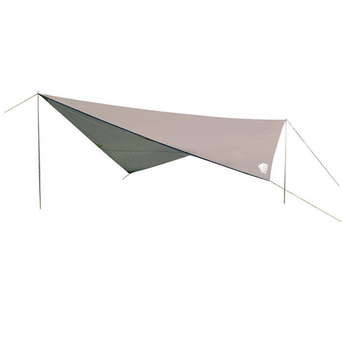 Тент Trek Planet 500 Set, цвет: серый70282Универсальный тент Tent 500 Set - предназначен для защиты от дождя и солнца и организации летней столовой, лагеря. Тканевая часть - из полиэстера с водоотталкивающей пропиткой, имеются две стальные стойки, растяжки и колышки. В собранном виде тент имеет небольшие размеры и не занимает много места при транспортировке. Тент упакован в легкий и прочный чехол на застежке-молнии. Особенности: Небольшой вес, Компактная упаковка, Стойки в комплекте, Швы проклеены. Тент упакован в легкий и прочный чехол на застежке-молнии. Размер (в сложенном виде, в чехле): 61 см х 11 см х 11 см.