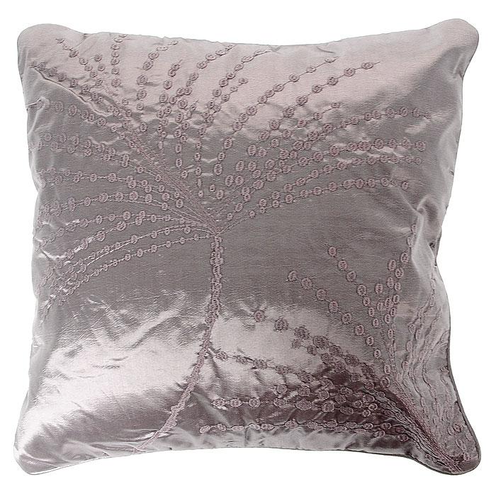 Декоративная подушка Коллекция, 40 х 40 см ПДМ-6ПДМ-6Декоративная подушка Коллекция, выполненная из полиэстера и силиконизированного волокна, станет отличным подарком для каждого. Подушка оформлена вышивкой в фиде ветвей. Съемный чехол закрывается на застежку-молнию. Такая подушка подарит комфорт и уют, станет оригинальным украшением интерьера. Характеристики: Материал чехла: 100% полиэстер. Набивка: 100% силиконизированное волокно. Размер подушки: 40 см x 40 см. Артикул: ПДМ-6.