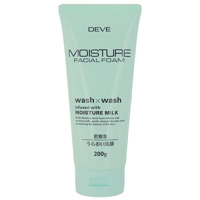Пенка для лица Deve Wash&Wash, увлажняющая, 200 г013117Увлажняющая пенка для лица Deve Wash&Wash содержит молочко, которое хорошо увлажняет кожу, делая ее гладкой. Благодаря густой пене проникает глубоко в поры и удаляет излишки жира. Способ применения : выдавите небольшое количество средства на руку, нанесите на влажное лицо, затем тщательно смойте теплой водой. Характеристики: Вес: 200 г. Артикул: KY-53. Производитель: Япония. Товар сертифицирован.
