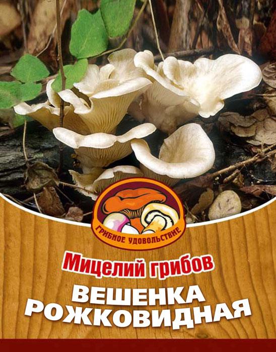 """Грибное удовольствие Мицелий грибов """"Вешенка рожковидная"""", на 16 древесных палочках 10036"""