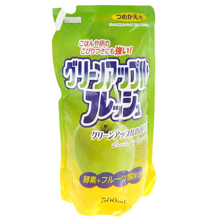 Средство для мытья посуды Fruit Acidic Fresh, с ароматом зеленого яблока, 500 мл091055Средство для мытья посуды Fruit Acidic Freshсодержит апельсиновое масло, очень мягко воздействует на кожу рук, не раздражая ее. Превосходно удаляет жирные загрязнения. Справляется с жиром даже в холодной воде. Подходит для мытья овощей и фруктов. Характеристики: Объем: 500 мл. Производитель: Япония. Товар сертифицирован.