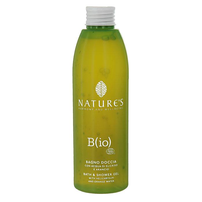 Natures Гель для душа Bio, 200 мл60180701Гель для душа Natures Bio идеально подходит для чувствительной кожи. Особенно мягкая пена очищает, питает и увлажняет, оставляя кожу обновленной, сияющей с приятным ароматом, готовой к дальнейшему уходу. Активный ингредиент для всей линии ухода БИО: Однокомпонентная вода Бессмертника, полученная из золотисто-желтых цветов Бессмертника (Helichrysum), который произрастает в заповедных районах, обладает успокаивающим и защитным свойствами. Используется для предупреждения преждевременного старения кожи и придает ей ощущение обновленности. Специальные активные ингредиенты в продукте: Апельсиновая вода - энергия и жизненная сила. Экстракт Ромашки - успокаивает и смягчает. Натрия фитат - увлажняет, обеспечивает упругость и эластичность. Продукт органического земледелия. Имеет ЭКО Сертификат (ECOCERT).