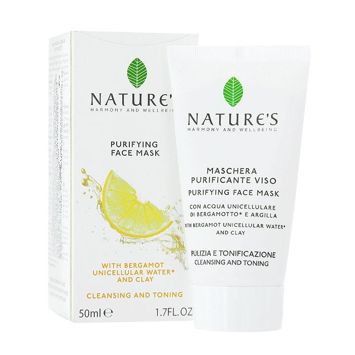 Natures Очищающая маска для лица, 50 мл60200105Очищающая маска для лица Natures удаляет загрязнения и излишки жира, сужает поры, не сушит кожу. Ваша кожа будет выглядеть свежей и обновленной, гладкой, однородной, матовой, без жирного блеска. Основной активный ингредиент: Однокомпонентная органическая вода из Бергамота - очищает, освежает, улучшает тонус, содержит АНА (альфа гидроксильные кислоты), улучшающие клеточный обмен. Разновидностей этого растения существует немало, но наиболее ценные сорта выращивают в заповедных природоохранных рощах, расположенных между побережьем и горами Калабрии. Бергамотовую Воду получают путем холодного отжима свежих плодов, сохраняя жизненно важные клетки растения, микроэлементы, витамины и эфирные масла. Специальные активные ингредиенты в продукте: Белая глина - поглощает загрязнения и излишки жира. Миндальная кислота из Горького Миндаля - отшелушивает, способствует обновлению клеток и разглаживает кожу. Витамин Е - антиоксидантное действие. Масла Оливы и Жожоба -...
