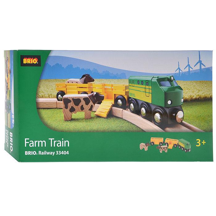 """1TOY Игровой набор """"Farm Train"""" 33404"""