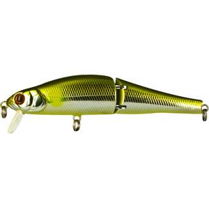 Воблер Tsuribito Joint Minnow, длина 11 см, вес 16,4 г. 110F/00903/1/12Воблер Tsuribito Joint Minnow 110F первый двухсоставник бренда Tsuribito для ловли щуки. Заглубление до метра дает возможность рыболову облавливать этим воблером мелководные заливы рек и водохранилищ, а плавная игра с широкой амплитудой составной приманки не оставит без внимания даже малоактивного хищника. Характеристики:Материал: металл, пластик. Длина: 11 см. Вес: 16,4 г. Цвет тела:009. Рабочая глубина: 0,5 - 1 м. Плавучесть - плавающий. Размер упаковки: 16,3 см х 4 см х 2,8 см. Производитель: Япония. Артикул: 110F/009.
