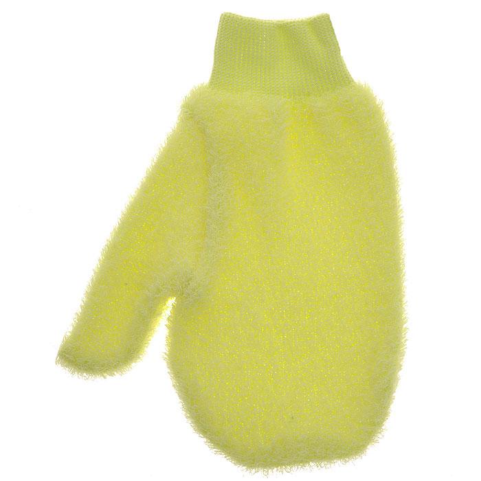 Riffi Мочалка-рукавица массажная, жесткая, цвет: желтый750Жесткая мочалка-рукавица Riffi используется для мытья тела, обладает активным пилинговым действием, тонизируя, массируя и эффективно очищая вашу кожу. Интенсивный и пощипывающе свежий массаж с применением Riffi оживляет кожу, активирует кровоснабжение и улучшает общее самочувствие. Благодаря отшелушивающему эффекту освобождает кожу от отмерших клеток, делает ее гладкой, упругой и свежей. Приносит приятное расслабление всему организму. Эффективно предупреждает образование целлюлита. Характеристики: Материал: 50% полиэтилен, 50% полиэстер. Размер мочалки: 17 см х 22 см. Производитель: Германия. Артикул: 750. Товар сертифицирован.