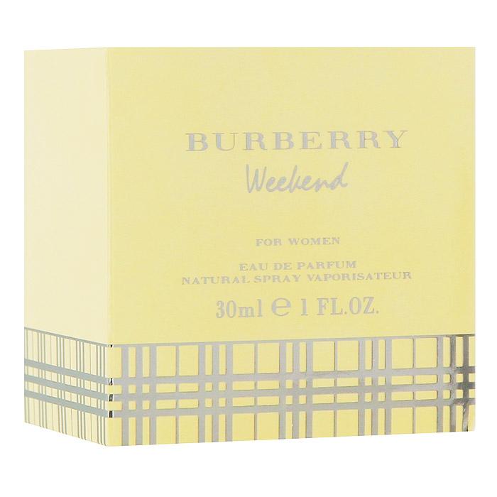 Burberry Weekend Women Парфюмерная вода, 30 млKF1118Аромат Burberry Weekend For Women - это призыв к отдыху, приглашение расслабиться и насладиться жизнью. Этот аромат полностью оправдывает свое название, принося вместе с собой ощущение легкости, непринужденности и радости. Бодрящий, свежий женский аромат с восхитительным набором ярких оттенков и мягких ноток, приносящих уверенность в себе и радость жизни.Классификация аромата: цитрусовые, древесные, мускусные, свежие. Сандал, мускус, мандарин, бергамот, древесина, лимон, грейпфрут, дубовый мох, амбра, ананас, арбуз, мед, цитрусовые, плющ, дыня. Товар сертифицирован.