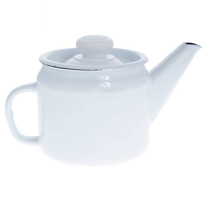 Чайник заварочный, 1 лС-2707П2/РчЗаварочный чайник выполнен из высококачественной стали и покрыт эмалью. Чайник имеет классическую форму, оснащен удобной ручкой и крышкой. Такой чайник не требует особого ухода и его легко мыть. Благодаря классическому дизайну и удобству в использовании чайник займет достойное место на вашей кухне. Характеристики: Материал: эмалированная сталь. Объем: 1 л. Высота чайника (без крышки): 11 см. Диаметр чайника по верхнему краю: 11,4 см. Артикул: С-2707П2/Рч.