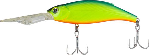 Воблер Tsuribito Deep Shaker 100F, № 059, длина 10 см, вес 31 г. 2890428904Deep Shaker 100F - плавающий воблер для троллинговой ловли. Кроме довольно привлекательной игры воблера, благодаря шарикам внутри, приманка обладает акустическим воздействием на рыбу. Характеристики: Длина: 10 см. Вес: 31 г. Цвет тела: 059. Глубина: 4-5 м. Плавучесть: плавающий. Материал: металл, пластик. Производитель: Китай. Артикул: 28904.