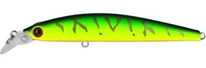Воблер Tsuribito Minnow, длина 9,5 см, вес 9,6 г. 95S/02895S/028Воблер Minnow 95S подходит для ловли самой разнообразной, особенно крупной, рыбы. Обладает отменной реалистичной игрой при равномерной проводке. Воблер устойчиво работает на течении, что расширяет возможности применения этой приманки. Система дальнего заброса позволяет добиться хорошей дальности. Характеристики: Длина: 9,5 см. Цвет тела: 028. Вес: 9,6 г. Рабочая глубина: 1 - 1,5 м. Размер упаковки: 16,3 см х 4 см х 2,8 см. Плавучесть: плавающий. Материал: металл, пластик. Производитель: Китай. Артикул: 95S/028.