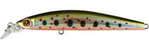 Воблер Tsuribito Minnow, длина 9,5 см, вес 9,6 г. 95S/05095S/050Воблер Minnow 95S подходит для ловли самой разнообразной, особенно крупной, рыбы. Обладает отменной реалистичной игрой при равномерной проводке. Воблер устойчиво работает на течении, что расширяет возможности применения этой приманки. Система дальнего заброса позволяет добиться хорошей дальности. Характеристики: Длина: 9,5 см. Цвет тела: 050. Вес: 9,6 г. Рабочая глубина: 1 - 1,5 м. Размер упаковки: 16,3 см х 4 см х 2,8 см. Плавучесть: плавающий. Материал: металл, пластик. Производитель: Китай. Артикул: 95S/050.