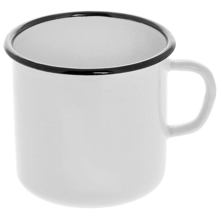 Кружка эмалированная, 0,4 лС-0103Кружка изготовлена из высококачественной стали и покрыта эмалью. Такая кружка не требует особого ухода и ее легко мыть. Благодаря классическому дизайну и удобству в использовании кружка займет достойное место на вашей кухне. Характеристики: Материал: эмалированная сталь. Диаметр кружки по верхнему краю: 9 см. Высота кружки: 8 см. Объем: 0,4 л. Артикул: С-0103.