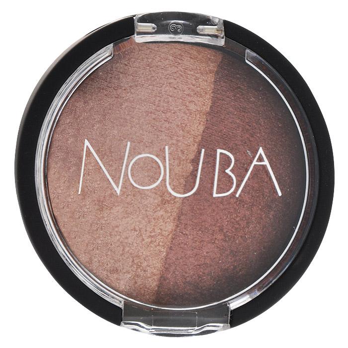 Nouba Тени для век Double Bubble, 2 цвета, тон №28, 2 гN25328Тени для век Nouba Double Bubble имеют прозрачную, как шифон, текстуру, на основе инновационной формулы без талька, с невероятной естественной насыщенностью цвета, придает взгляду особую выразительность. Входящие в состав витамин Е и масло жожоба бережно ухаживают за кожей век. Для легкого сияющего макияжа, благодаря уникальной технологии запекания, тени можно наносить невероятно-тонким слоем. Для получения яркого и насыщенного цвета используйте нанесение увлажненным аппликатором (прилагается). Характеристики: Вес: 2 г. Тон: №28. Артикул: N25328. Товар сертифицирован.