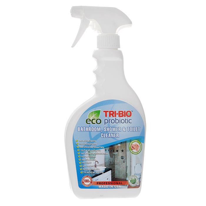 Биосредство для ванных комнат и туалетов Tri-Bio, 420 млES-412Биосредство Tri-Bio предназначено для чистки раковин, ванн, душевых кабин, плитки, унитазов и др. Эффективно чистит керамику, фарфор, стеклопластик, а также нержавеющую сталь, не повреждая поверхность. Ликвидирует неприятные запахи, устраняя их причину. Легко проникает в швы, позволяет обеспечить более длительный контроль запаха и более глубокую чистку. Удаляет известковый налет!Особенности биосредства Tri-Bio для здоровья:Без фосфатов, без растворителей, без хлора отбеливающих веществ, без абразивных веществ, без поверхностно-активных веществ (ПАВ), без отдушек, без красителей, без токсичных веществ, нейтральный pH, гипоаллергенно. Безопасная альтернатива химическим аналогам. Присвоен сертификат ECO GREEN. Рекомендуется для людей склонных к аллергическим реакциям и страдающих астмой.Особенности биосредства Tri-Bio для окружающей среды:Низкий уровень ЛОС, легко биоразлагаемо, минимальное влияние на водные организмы, рециклируемые упаковочные материалы, не испытывалось на животных. Особо рекомендуется использовать в домах с автономной канализацией.Способ применения:Хорошо взболтайте средство. Распылите непосредственно на поверхности или на влажную губку, оставьте на несколько минут, затем потрите щеткой или губкой, смойте водой. Для более сильных загрязнений оставьте средство на поверхности на 2-5 минут. Характеристики:Объем: 420 мл. Состав: пробиотическое средство содержащее; воду, микроорганизмы (класс 1непатогенные ), Magnesium nitrate (органический, минеральные соли), Magnesium chloride(органический, минеральные соли), Calcium carbonate (органический, из кальция), Xanthan Powder(органический полисахарид), Сода, Kathon CG (эко, консервант для бытовой продукции, безформальдегида и галогенов).Товар сертифицирован.
