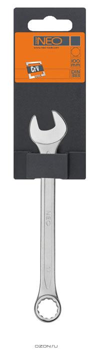Ключ комбинированный Neo, 8 мм09-708Ключ комбинированный Neo станет отличным помощником монтажнику или владельцу авто. Этот инструмент обеспечит надежную фиксацию на гранях крепежа. Благодаря изогнутой с одной стороны головке, Вы обеспечите себе удобный доступ к элементам крепежа и безопасность. Специальная хромованадиевая сталь повышает прочность и износ инструмента. Характеристики: Материал: хром ванадий. Размер: 8 см х 2 см х 0,5 см. Размер упаковки: 12 см х 5 см х 1 см.