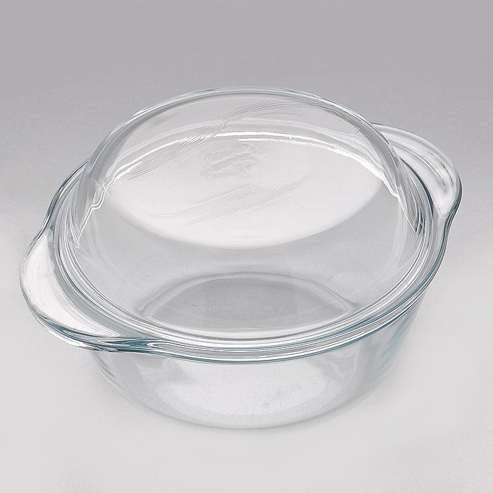Кастрюля Borcam для СВЧ, 1 лCM000001328Кастрюля Borcam с крышкой, изготовленные из термостойкого стекла круглой формы, будет отличным выбором для всех любителей блюд, приготовленных в духовке, микроволновой печи. Кастрюля не вступает в реакцию с готовящейся пищей, а потому не выделяет никаких вредных веществ, не подвергается воздействию кислот и солей. Из-за невысокой теплопроводности пища в стеклянной посуде гораздо медленнее остывает. Стеклянная кастрюля очень удобна для приготовления и подачи самых разнообразных блюд: супов, вторых блюд, десертов. Благодаря прозрачности стекла, за едой можно наблюдать при ее готовке, еду можно видеть при подаче, хранении. Используя эту кастрюлю, вы можете как приготовить пищу, так и изящно подать ее к столу, не меняя посуды. Кастрюля может быть использована в духовках, микроволновых печах и морозильных камерах (выдерживает температуру от - 30°C до 300°C).Можно мыть и сушить в посудомоечной машине. Характеристики:Материал: стекло. Размер:16,5 см х 16,5 см х 5,5 см. Объем: 1 л. Размер упаковки: 19 см х 16 см х 8 см. Производитель: Турция. Артикул: 59033.