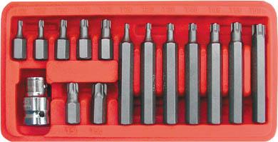 Набор бит типа Torx FIT, 15 шт 57835