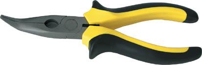 Утконосы Fit, 160 мм. 5064650646Утконосы Fit изготовлены из инструментальной стали с молибденовым покрытием. Они предназначены для захвата, зажима и удержания мелких деталей. Имеют эргономичные ручки. Характеристики: Материал: сталь, пластик. Общая длина: 16 см. Размер плоскогубцев: 16 см х 6 см х 2 см. Размер упаковки: 20 см х 6 см х 2 см.