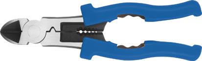 Бокорезы FIT, 200 мм51010Бокорезы FIT являются многофункциональным инструментом. Можно выполнять перекусывание закаленной стальной проволоки или проводов. На удобных рукоятках имеются ограничители для защиты руки от от случайных травм. Длина бокорезов составляет 200 мм. Характеристики: Материал: пластик, сталь. Размер бокорезов: 20 см x 6 см x 2 см. Размер упаковки: 26 см x 10 см x 2 см.