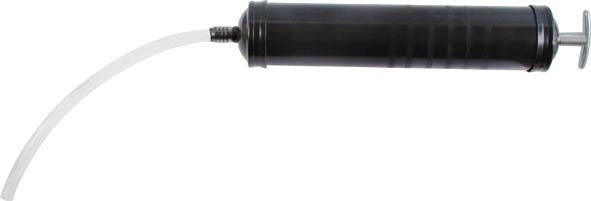 Шприц автомобильный FIT, 500 мл64947Шприц автомобильный FIT предназначен для нанесения смазочных материалов густой консистенции в подшипники и другие труднодоступные места. Характеристики: Материал: нержавеющая сталь. Объем шприца: 500 мл. Размер шприца: 34 см х 5,5 см х 5,5 см. Размер упаковки: 34 см х 8 см х 6,5 см.
