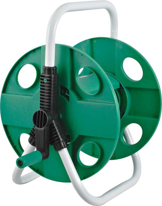 Катушка для шланга малая FIT, для шланга 1/2, 45 м 7727277272Малая катушка для шланга на FIT предназначена для хранения и транспортировки поливочных садовых шлангов диаметром 1/2 - длиной до 45 м или 3/4-30 м. Благодаря катушке шланг не будет перекручиваться во время намотки. Оптимально расположенная ручка позволит быстро намотать шланг на катушку, не прилагая лишних усилий. Дополнительную устойчивость и надежность инструменту обеспечивает опорная рама. Благодаря металлическому каркасу катушка прослужит долгое время при правильной и бережной эксплуатации. Характеристики: Материал: металл, пластик. Диаметр катушки: 30,5 см. Размеры катушки: 38,5 см x 31 см x 42,5 см. Размер упаковки: 31 см x 32 см x 9 см.