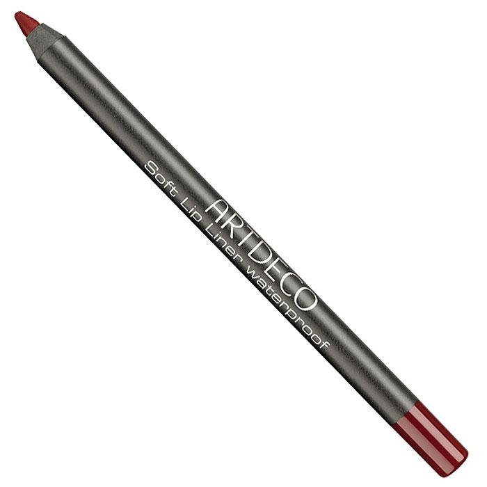 Artdeco Карандаш для губ водостойкий Soft Lip Liner Waterproof, тон №08, 1,2 г172.08Мягкий водостойкий карандаш для губ Artdeco Soft Lip Liner Waterproof обладает высоко-пигментированной формулой, которая содержит натуральные антиоксиданты. Приятная кремообразная консистенция карандаша наносится легко и гладко, быстро фиксируется. Прекрасная находка для комбинированной, склонной к жирности кожи. Он будет незаменим при занятиях спортом и на отдыхе. Характеристики: Вес: 1,2 г. Тон: №08. Производитель: Германия. Артикул: 172.08. Товар сертифицирован.