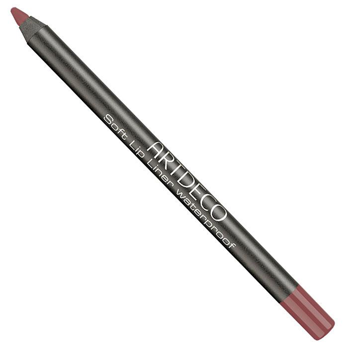 Artdeco Карандаш для губ водостойкий Soft Lip Liner Waterproof, тон №19, 1,2 г172.19Мягкий водостойкий карандаш для губ Artdeco Soft Lip Liner Waterproof обладает высоко-пигментированной формулой, которая содержит натуральные антиоксиданты. Приятная кремообразная консистенция карандаша наносится легко и гладко, быстро фиксируется. Прекрасная находка для комбинированной, склонной к жирности кожи. Он будет незаменим при занятиях спортом и на отдыхе. Характеристики: Вес: 1,2 г. Тон: №19. Производитель: Германия. Артикул: 172.19. Товар сертифицирован.