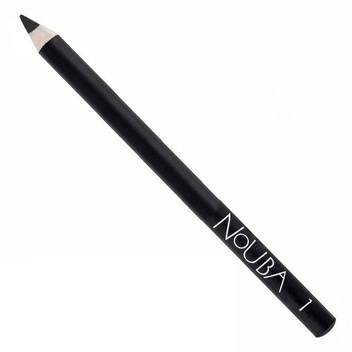 Nouba Карандаш для век Eye Pencil, тон №01, 1 гSC-FM20101Классический карандаш для век Nouba Eye Pencil создает идеальные стрелки и четкие контуры. Его волшебные цвета с потрясающе устойчивым эффектом держатся в течение всего дня. Карандаш идеально подходит для чувствительных глаз. Пальмовое масло, глицерин - смягчает, увлажняет; Карнаубский, канделийский воски - устойчивость, легкое нанесение. Характеристики:Вес: 1 г. Тон: №01. Производитель: Италия. Артикул: N02201. Товар сертифицирован.